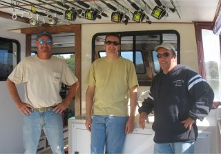 Chesapeake Bay Sport Fishing captains group shot