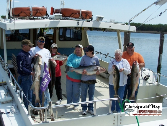 Groups chesapeake bay sport fishing for Annapolis fishing charters