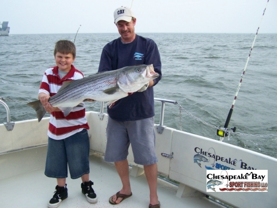 Trophy rockfish chesapeake bay sport fishing for Annapolis fishing charters
